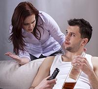Alcoholic in denial