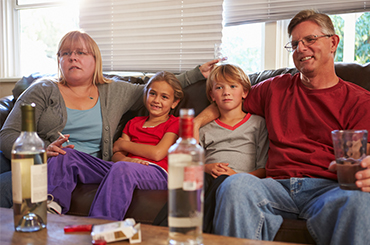 Children Who Grow Up in Households With Alcoholic Parents